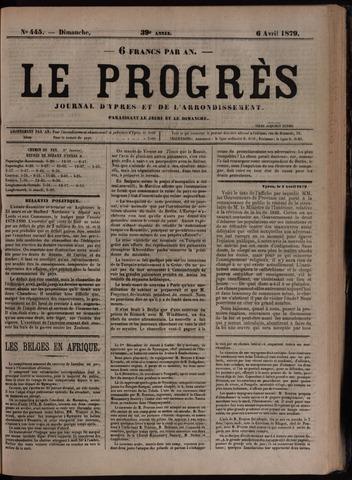 Le Progrès (1841-1914) 1879-04-06