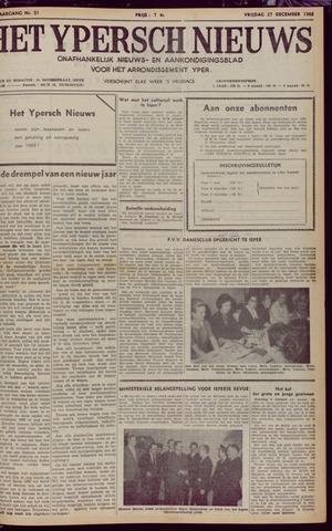 Het Ypersch nieuws (1929-1971) 1968-12-27