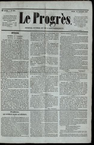 Le Progrès (1841-1914) 1847-01-14