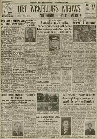Het Wekelijks Nieuws (1946-1990) 1953-07-25