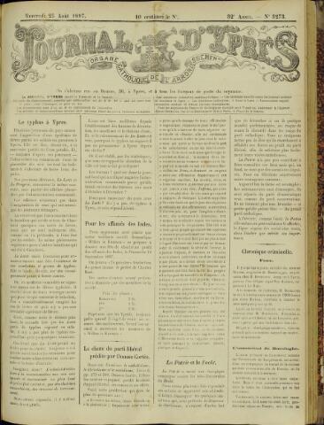 Journal d'Ypres (1874 - 1913) 1897-08-25