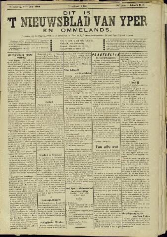 Nieuwsblad van Yperen en van het Arrondissement (1872 - 1912) 1899-06-17
