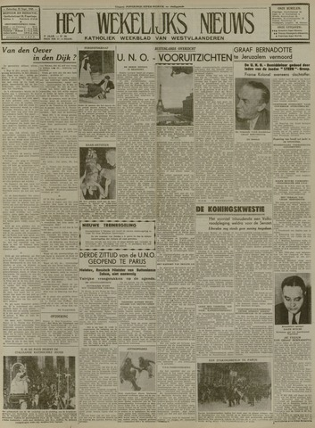 Het Wekelijks Nieuws (1946-1990) 1948-09-25