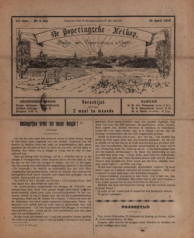 De Poperingsche Keikop (1917-1919) 1918-04-15