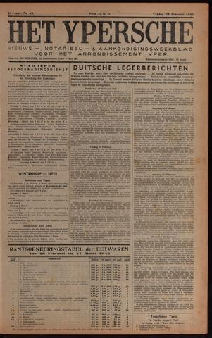 Het Ypersch nieuws (1929-1971) 1943-02-26