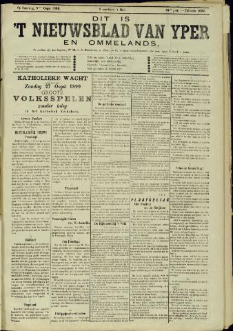 Nieuwsblad van Yperen en van het Arrondissement (1872 - 1912) 1899-08-05