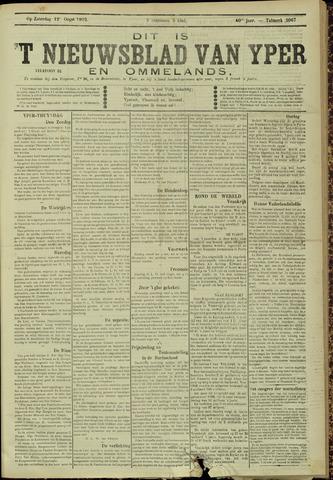 Nieuwsblad van Yperen en van het Arrondissement (1872 - 1912) 1905-08-12