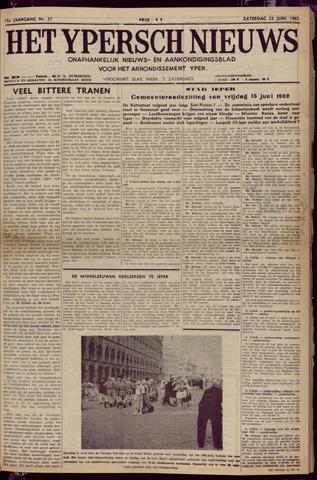 Het Ypersch nieuws (1929-1971) 1962-06-23