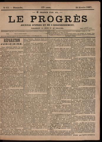 Le Progrès (1841-1914) 1897-02-21