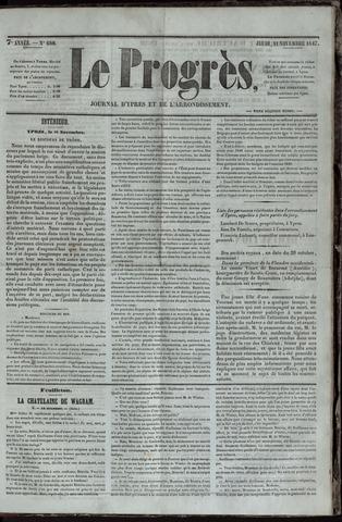 Le Progrès (1841-1914) 1847-11-11