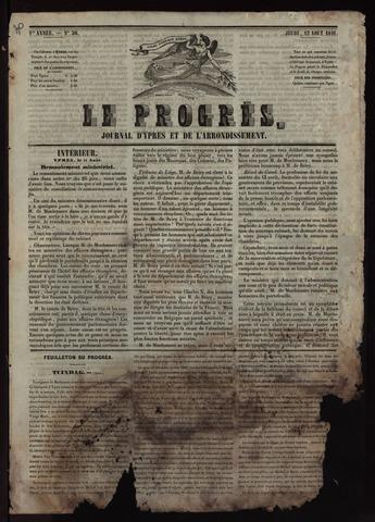 Le Progrès (1841-1914) 1841-08-12
