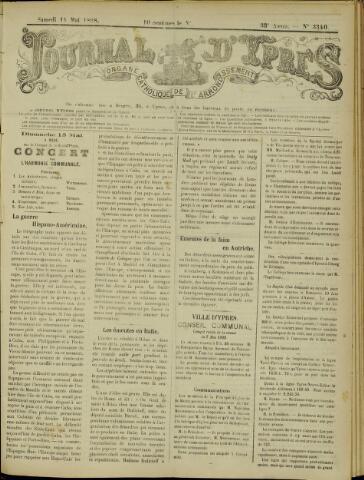 Journal d'Ypres (1874 - 1913) 1898-05-14
