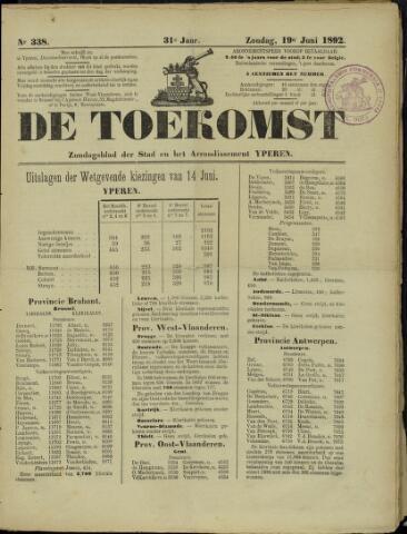 De Toekomst (1862 - 1894) 1892-06-19
