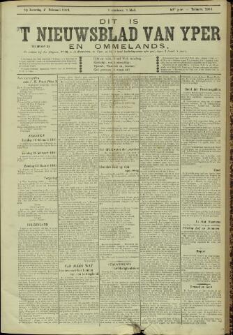 Nieuwsblad van Yperen en van het Arrondissement (1872 - 1912) 1905-02-04
