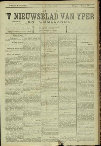 Nieuwsblad van Yperen en van het Arrondissement (1872 - 1912) 1905-03-04