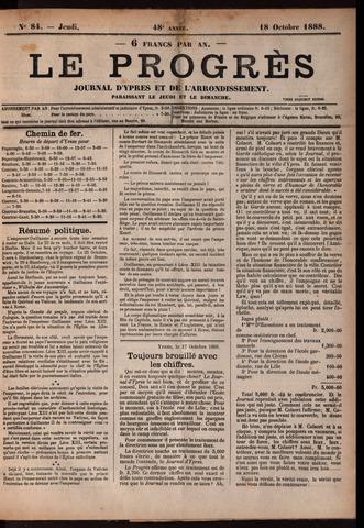 Le Progrès (1841-1914) 1888-10-18