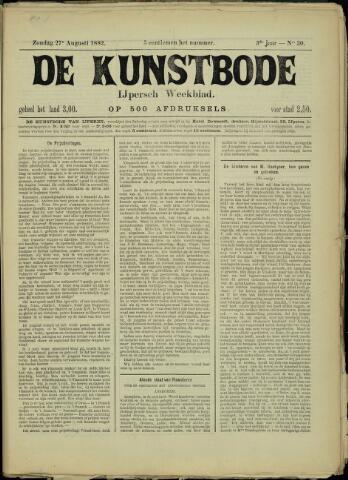 De Kunstbode (1880 - 1883) 1882-08-27