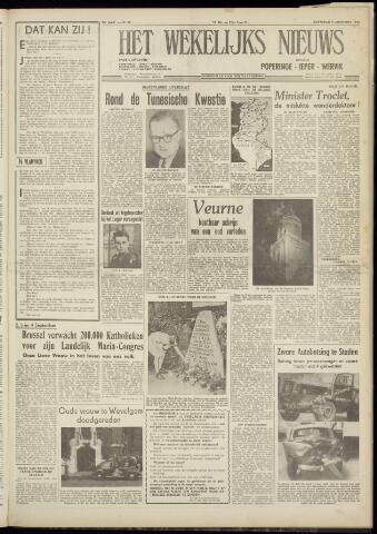 Het Wekelijks Nieuws (1946-1990) 1954-08-07