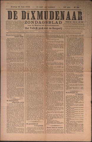 De Dixmudenaar 1908-06-14