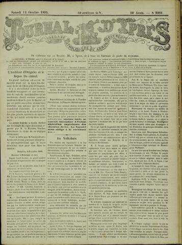 Journal d'Ypres (1874 - 1913) 1895-10-12