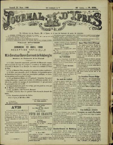 Journal d'Ypres (1874 - 1913) 1900-03-31
