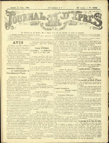 Journal d'Ypres (1874 - 1913) 1900-03-17