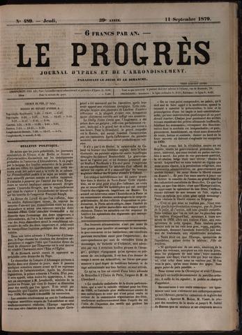 Le Progrès (1841-1914) 1879-09-11