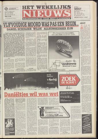 Het Wekelijks Nieuws (1946-1990) 1985-12-13