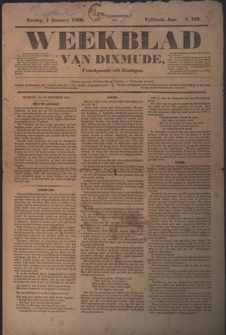 Weekblad van Dixmude 1860