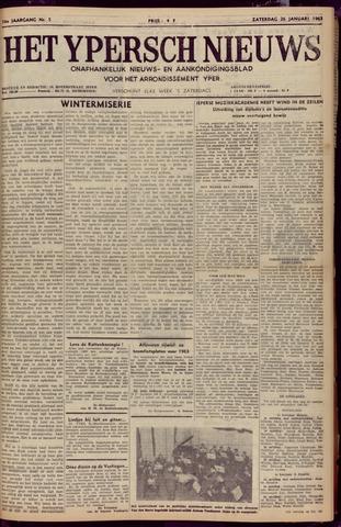 Het Ypersch nieuws (1929-1971) 1963-01-26