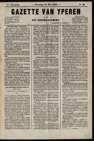 Gazette van Yperen (1857-1862) 1858-05-01