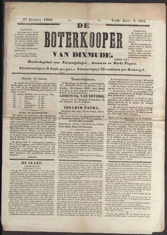 De Boterkoper 1853-01-27