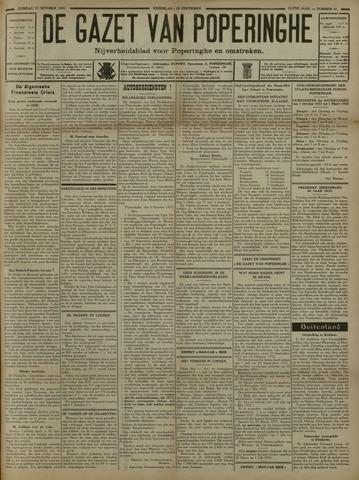De Gazet van Poperinghe  (1921-1940) 1931-10-11