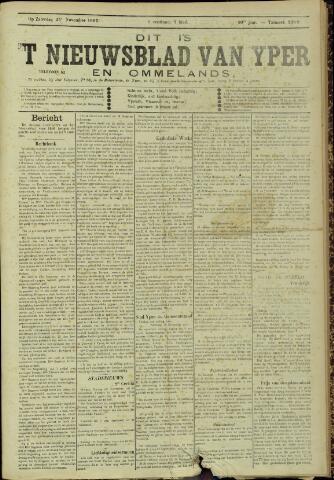 Nieuwsblad van Yperen en van het Arrondissement (1872 - 1912) 1905-11-25