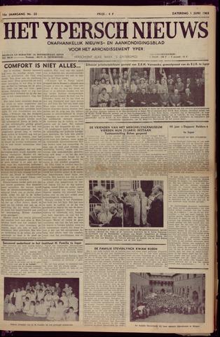 Het Ypersch nieuws (1929-1971) 1963-06-01