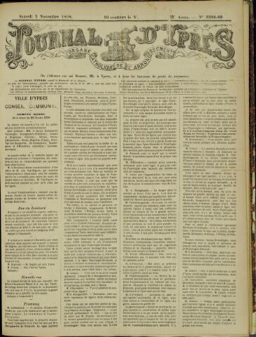 Journal d'Ypres (1874 - 1913) 1898-11-05