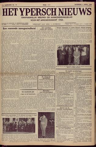 Het Ypersch nieuws (1929-1971) 1964-04-04