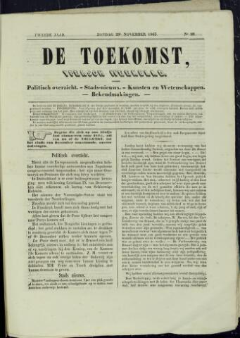 De Toekomst (1862 - 1894) 1863-11-29