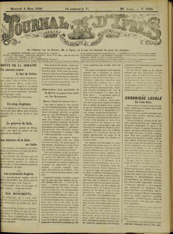 Journal d'Ypres (1874 - 1913) 1898-03-02