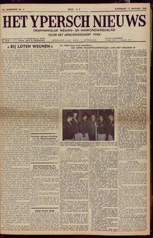 Het Ypersch nieuws (1929-1971) 1963-01-12
