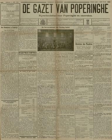 De Gazet van Poperinghe  (1921-1940) 1930-06-08