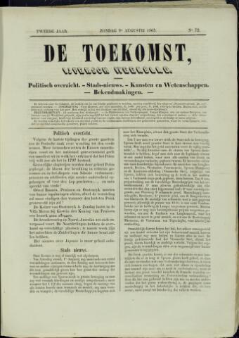 De Toekomst (1862 - 1894) 1863-08-09