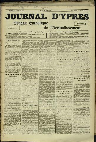 Journal d'Ypres (1874 - 1913) 1912-07-27