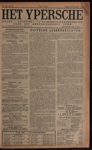Het Ypersch nieuws (1929-1971) 1943-11-12