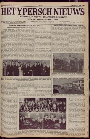 Het Ypersch nieuws (1929-1971) 1967-05-05