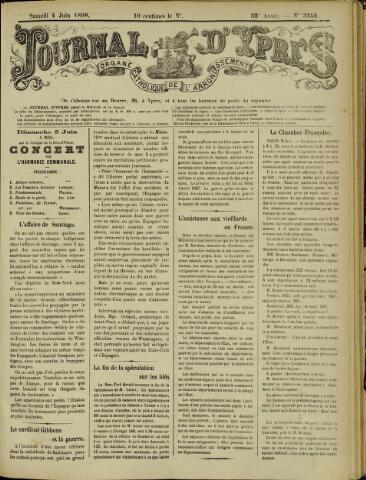 Journal d'Ypres (1874 - 1913) 1898-06-04