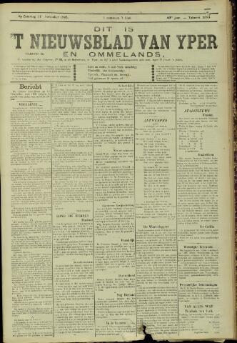 Nieuwsblad van Yperen en van het Arrondissement (1872 - 1912) 1905-11-11