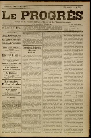 Le Progrès (1841-1914) 1905-12-10