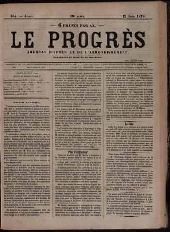 Le Progrès (1841-1914) 1879-06-12