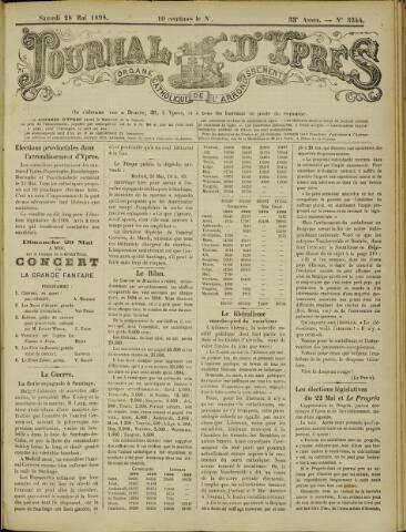 Journal d'Ypres (1874 - 1913) 1898-05-28
